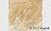 Satellite Map of Oruzgan
