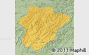 Savanna Style Map of Oruzgan