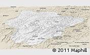 Classic Style Panoramic Map of Oruzgan