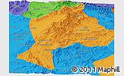 Political Panoramic Map of Paktia