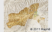 Satellite Map of Parvan, lighten