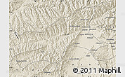 Shaded Relief Map of Parvan