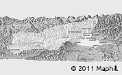 Gray Panoramic Map of Parvan