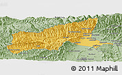 Savanna Style Panoramic Map of Parvan