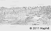 Silver Style Panoramic Map of Parvan