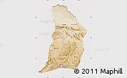 Satellite Map of Samangan, cropped outside
