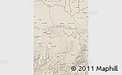Shaded Relief Map of Samangan