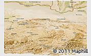Satellite Panoramic Map of Samangan