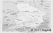 Silver Style Panoramic Map of Samangan