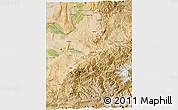Satellite 3D Map of Takhar