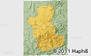 Savanna Style 3D Map of Takhar