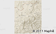 Shaded Relief 3D Map of Takhar