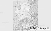 Silver Style 3D Map of Takhar