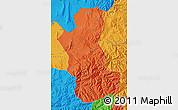 Political Map of Takhar