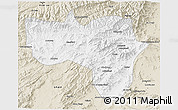 Classic Style 3D Map of Vardak