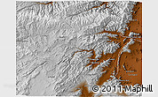 Physical 3D Map of Vardak