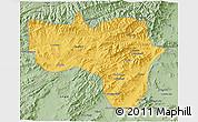 Savanna Style 3D Map of Vardak