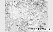 Silver Style 3D Map of Vardak