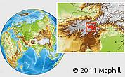 Physical Location Map of Vardak