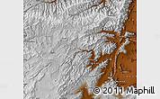 Physical Map of Vardak