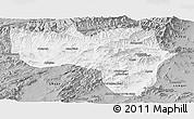 Gray Panoramic Map of Vardak