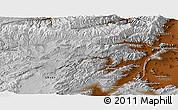 Physical Panoramic Map of Vardak