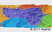 Political Panoramic Map of Vardak