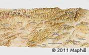 Satellite Panoramic Map of Vardak
