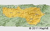 Savanna Style Panoramic Map of Vardak