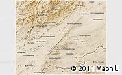 Satellite 3D Map of Zabol