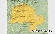 Savanna Style 3D Map of Zabol