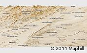 Satellite Panoramic Map of Zabol