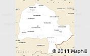 Classic Style Simple Map of Zabol