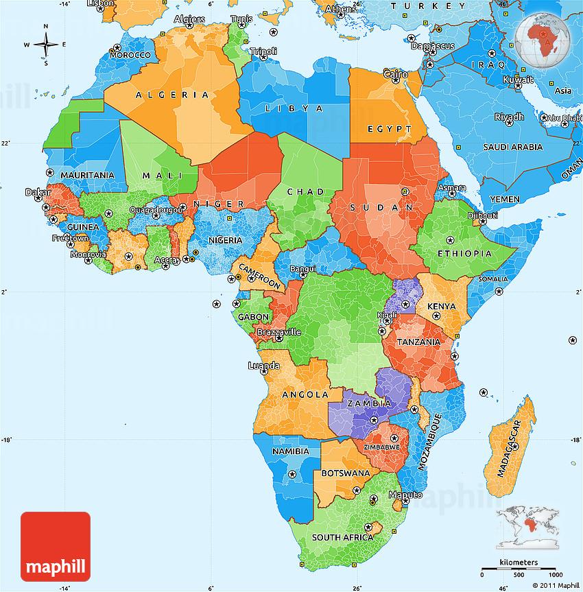 world mapafrica