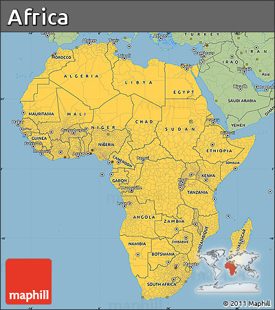 Free Savanna Style Simple Map of Africa on sahel in africa map, united states in africa map, savanna region of africa, kalahari in africa map, savanna in south america, congo river map, islam in africa map, major rivers in africa map, cairo in africa map, forest in africa map, steppe in africa map, kenya in africa map, different tribes in africa map, african savanna location map, great rift valley map, bodies of water in africa map, ebola in africa map, tropical rainforest in africa map, aids in africa map, savanna in asia,