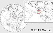 Blank Location Map of Ballsh