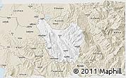 Classic Style 3D Map of Berat