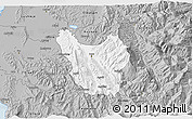 Gray 3D Map of Berat