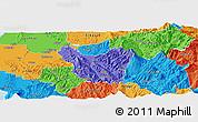 Political Panoramic Map of Berat