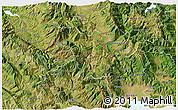 Satellite 3D Map of Bulquizë