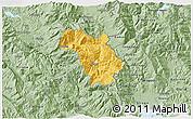 Savanna Style 3D Map of Bulquizë