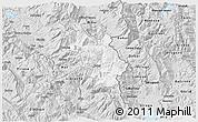 Silver Style 3D Map of Bulquizë