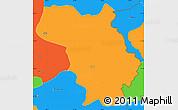 Political Simple Map of Bulquizë