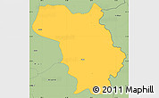 Savanna Style Simple Map of Bulquizë