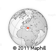 Outline Map of Delvinë