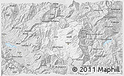 Silver Style 3D Map of Dibër