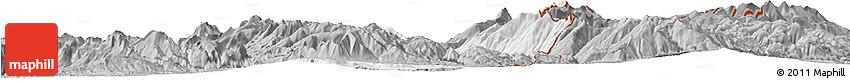 Gray Horizon Map of Dibër