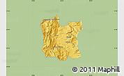 Savanna Style Map of Dibër, single color outside