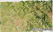 Satellite 3D Map of Elbasan