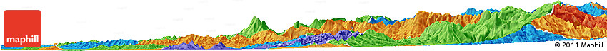 Political Horizon Map of Elbasan